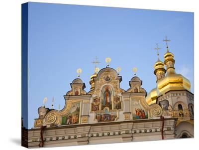 Holy Dormition, Kiev-Pechersk Lavra, UNESCO World Heritage Site, Kiev, Ukraine, Europe-Graham Lawrence-Stretched Canvas Print