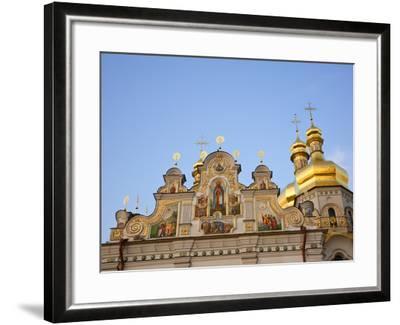 Holy Dormition, Kiev-Pechersk Lavra, UNESCO World Heritage Site, Kiev, Ukraine, Europe-Graham Lawrence-Framed Photographic Print