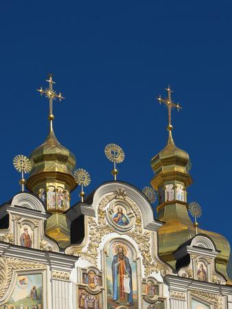 Kiev-Pechersk Lavra, UNESCO World Heritage Site, Kiev, Ukraine, Europe-Graham Lawrence-Framed Photographic Print
