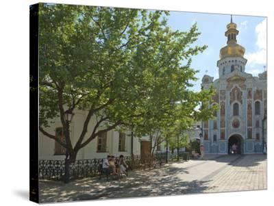 Gate Church of the Trinity, Kiev-Pechersk Lavra, UNESCO World Heritage Site, Kiev, Ukraine, Europe-Graham Lawrence-Stretched Canvas Print