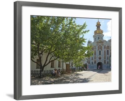 Gate Church of the Trinity, Kiev-Pechersk Lavra, UNESCO World Heritage Site, Kiev, Ukraine, Europe-Graham Lawrence-Framed Photographic Print