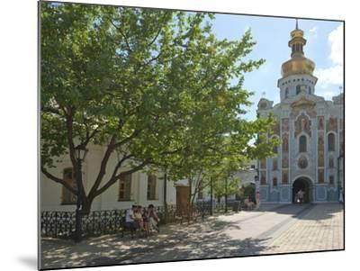 Gate Church of the Trinity, Kiev-Pechersk Lavra, UNESCO World Heritage Site, Kiev, Ukraine, Europe-Graham Lawrence-Mounted Photographic Print
