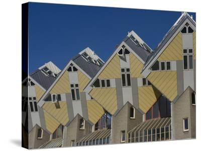 Cubic House (Kubuswoningen), Designed by Piet Blom, Rotterdam, Netherlands, Europe-Ethel Davies-Stretched Canvas Print