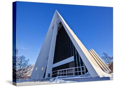 The Arctic Cathedral, Polar Church, Tromso, Troms, North Norway, Scandinavia, Europe-Neale Clark-Stretched Canvas Print