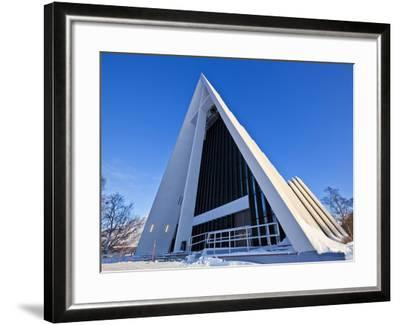 The Arctic Cathedral, Polar Church, Tromso, Troms, North Norway, Scandinavia, Europe-Neale Clark-Framed Photographic Print