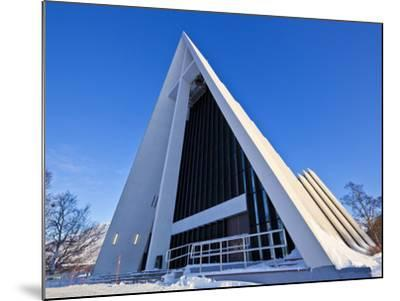 The Arctic Cathedral, Polar Church, Tromso, Troms, North Norway, Scandinavia, Europe-Neale Clark-Mounted Photographic Print
