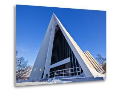 The Arctic Cathedral, Polar Church, Tromso, Troms, North Norway, Scandinavia, Europe-Neale Clark-Metal Print