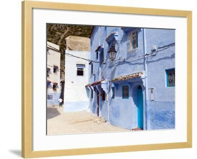 Chefchaouen (Chaouen), Tangeri-Tetouan Region, Rif Mountains, Morocco, North Africa, Africa-Nico Tondini-Framed Photographic Print