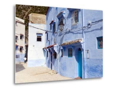 Chefchaouen (Chaouen), Tangeri-Tetouan Region, Rif Mountains, Morocco, North Africa, Africa-Nico Tondini-Metal Print