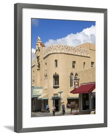 The Lensic Performing Arts Center, Santa Fe, New Mexico, United States of America, North America-Richard Cummins-Framed Photographic Print