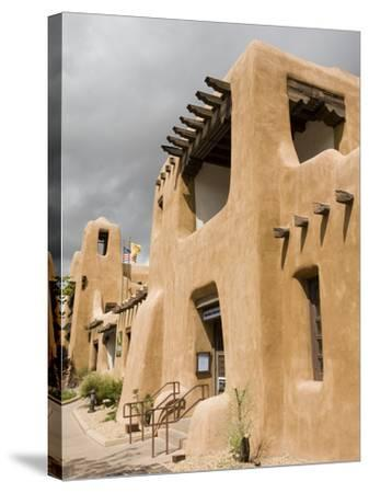 New Mexico Museum of Art, Santa Fe, New Mexico, United States of America, North America-Richard Cummins-Stretched Canvas Print