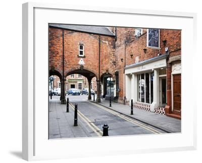 Archway Leading to Front Street, Tynemouth, North Tyneside, Tyne and Wear, England, United Kingdom,-Mark Sunderland-Framed Photographic Print