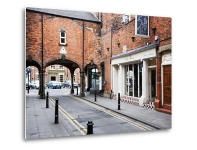Archway Leading to Front Street, Tynemouth, North Tyneside, Tyne and Wear, England, United Kingdom,-Mark Sunderland-Metal Print