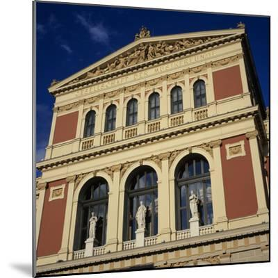 Exterior of Musikverein Concert Hall, Vienna, Austria, Europe-Stuart Black-Mounted Photographic Print