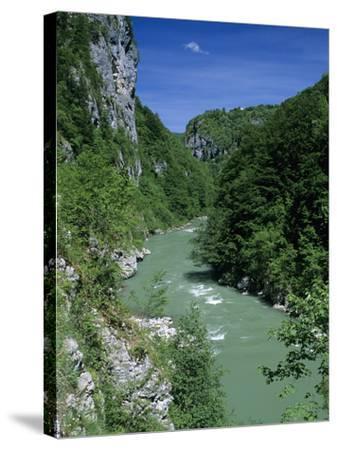 Tara Canyon and Tara River, Tramontana, Montenegro, Europe-Stuart Black-Stretched Canvas Print