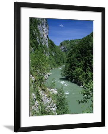 Tara Canyon and Tara River, Tramontana, Montenegro, Europe-Stuart Black-Framed Photographic Print