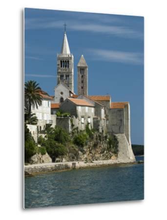 View of Old Town and Campaniles, Rab Town, Rab Island, Kvarner Gulf, Croatia, Adriatic, Europe-Stuart Black-Metal Print