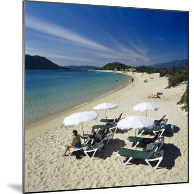 Beach View, Cala Rossa, Southeast Corsica, Corsica, France, Mediterranean, Europe-Stuart Black-Mounted Photographic Print