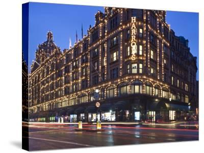 Harrods, Kensington, London, England, United Kingdom, Europe-Ben Pipe-Stretched Canvas Print