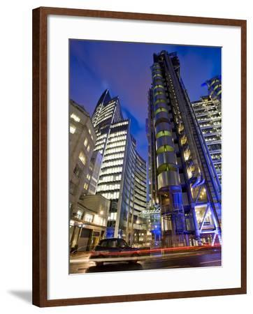 Lloyds Building, City of London, London, England, United Kingdom, Europe-Ben Pipe-Framed Photographic Print
