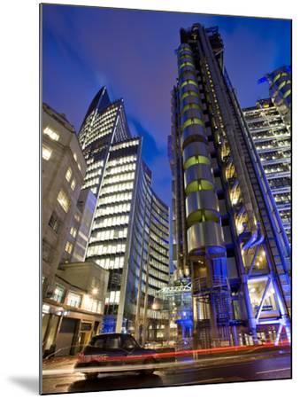 Lloyds Building, City of London, London, England, United Kingdom, Europe-Ben Pipe-Mounted Photographic Print