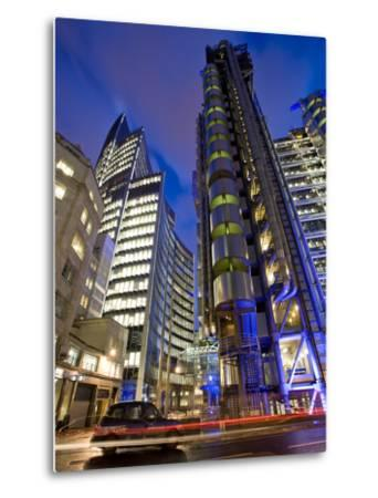 Lloyds Building, City of London, London, England, United Kingdom, Europe-Ben Pipe-Metal Print