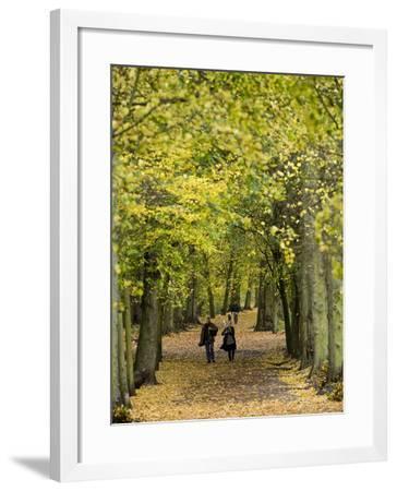 Hampstead Heath, North London, England, United Kingdom, Europe-Ben Pipe-Framed Photographic Print