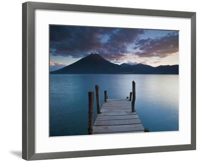Lake Atitlan, Western Highlands, Guatemala, Central America-Ben Pipe-Framed Photographic Print