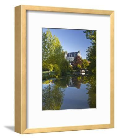 The Castle in the Beautiful Village of Montresor, Indre-Et-Loire, Loire Valley, Centre, France, Eur-Julian Elliott-Framed Photographic Print
