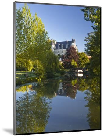 The Castle in the Beautiful Village of Montresor, Indre-Et-Loire, Loire Valley, Centre, France, Eur-Julian Elliott-Mounted Photographic Print