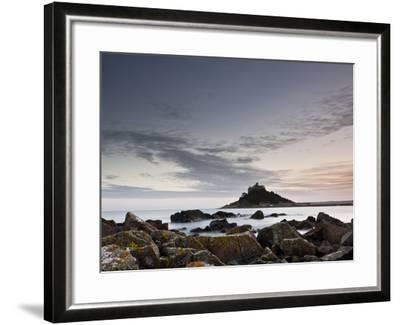 St. Michael's Mount, Marazion, Cornwall, England, United Kingdom, Europe-Julian Elliott-Framed Photographic Print