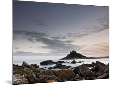 St. Michael's Mount, Marazion, Cornwall, England, United Kingdom, Europe-Julian Elliott-Mounted Photographic Print