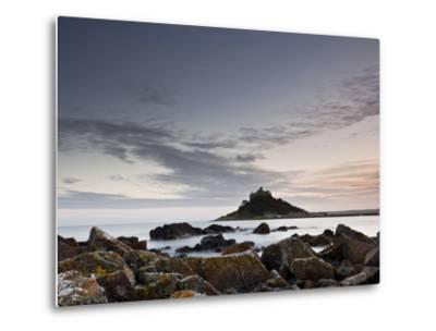St. Michael's Mount, Marazion, Cornwall, England, United Kingdom, Europe-Julian Elliott-Metal Print