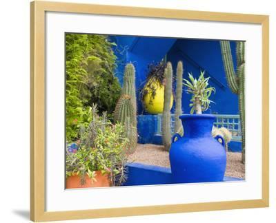 Jardin Majorelle, Marrakech, Morocco-Nico Tondini-Framed Photographic Print