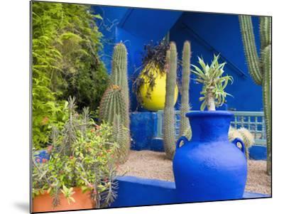 Jardin Majorelle, Marrakech, Morocco-Nico Tondini-Mounted Photographic Print