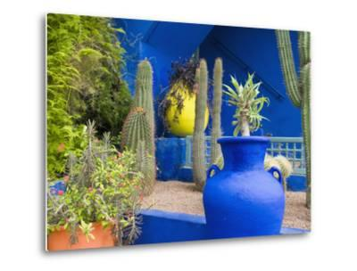 Jardin Majorelle, Marrakech, Morocco-Nico Tondini-Metal Print