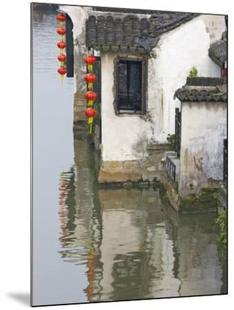 Old Residence Along the Grand Canal, Xitang, Zhejiang, China-Keren Su-Mounted Photographic Print