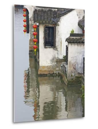 Old Residence Along the Grand Canal, Xitang, Zhejiang, China-Keren Su-Metal Print