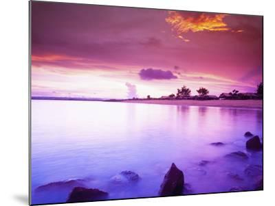 Beautiful Sunset, Bali, Indonesia-Micah Wright-Mounted Photographic Print