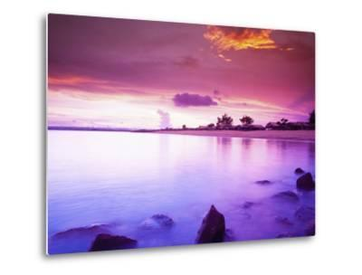 Beautiful Sunset, Bali, Indonesia-Micah Wright-Metal Print