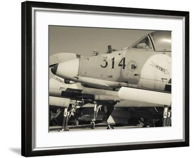Graveyard of Us-Built A-4 Fighters, Israeli Air Force Museum, Be-Er Sheva, the Negev, Israel-Walter Bibikow-Framed Photographic Print