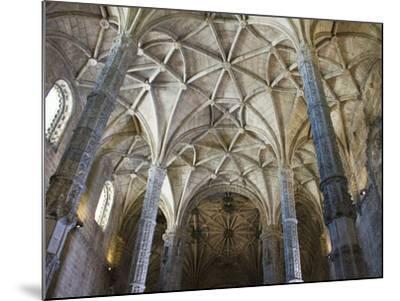 15th Century Interior of the Church of Santa Maria, Lisbon, Portugal-John Loggins-Mounted Photographic Print