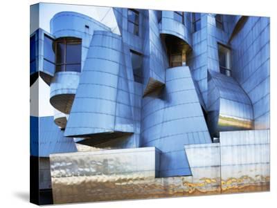 Weisman Art Museum Building at University of Minnesota, Saint Paul, Minnesota, Usa-Paul Souders-Stretched Canvas Print