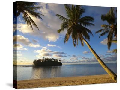 Muri Beach, Rarotonga, Cook Islands, South Pacific-Doug Pearson-Stretched Canvas Print