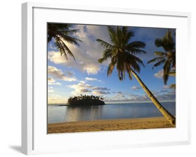 Muri Beach, Rarotonga, Cook Islands, South Pacific-Doug Pearson-Framed Photographic Print