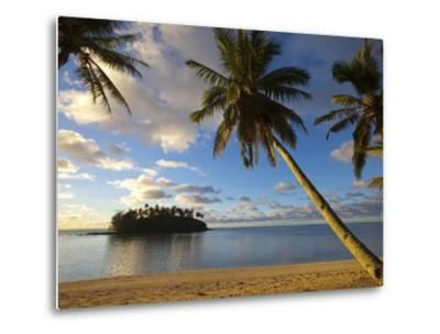 Muri Beach, Rarotonga, Cook Islands, South Pacific-Doug Pearson-Metal Print