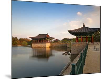 Korea, Gyeongsangbuk-Do, Gyeongju, Anapji Pond-Jane Sweeney-Mounted Photographic Print