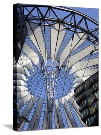 Sony Center, Potsdammer Platz, Berlin, Germany-Jon Arnold-Stretched Canvas Print