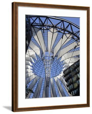 Sony Center, Potsdammer Platz, Berlin, Germany-Jon Arnold-Framed Photographic Print