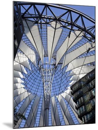 Sony Center, Potsdammer Platz, Berlin, Germany-Jon Arnold-Mounted Photographic Print